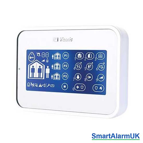 Visonic Powermaster KP-160 PG2 Remote Touchscreen Keypad (868-1 UK) 0-102924