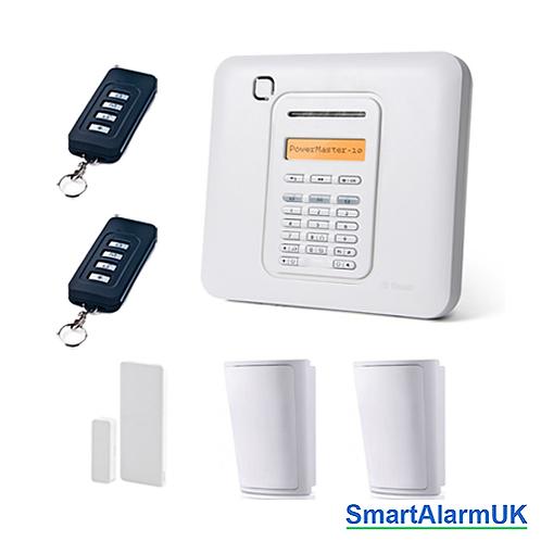 Visonic Powermaster 10 PG2 Wireless Alarm Kit (No Siren)