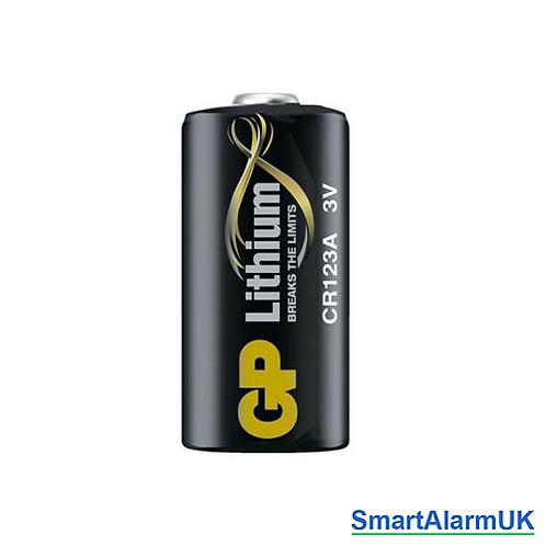 GP CR123 3v Lithium Cell Battery