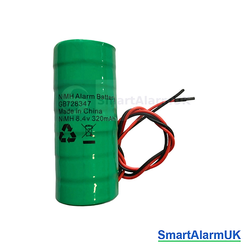 8.4v 320mAh Ni-MH Rechargeable Battery for Alarm Sirens