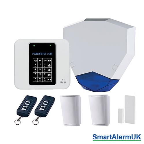 Visonic Powermaster 360R PG2 All-in-One Wireless Alarm Kit (868-1 UK)