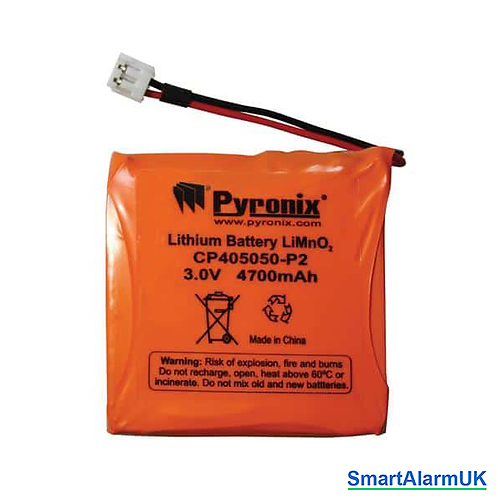 Pyronix BATT-RKP1 Lithium Battery for Enforcer LEDRKP-1WE Wireless Keypad