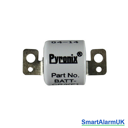 Replacement Battery for Pyronix KF4-WE Key Fob