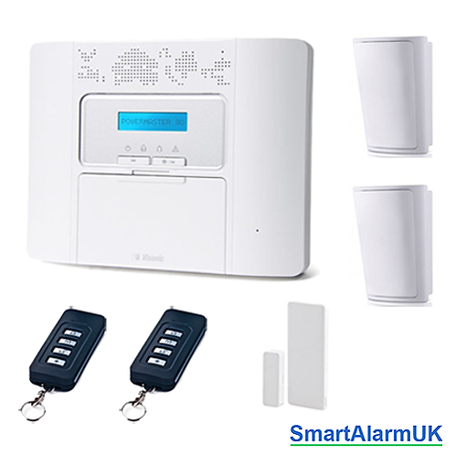 Visonic Powermaster 30 PG2 Wireless Alarm Kit - No Siren