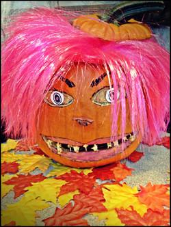 Pamela Pumpkin needs dental work!