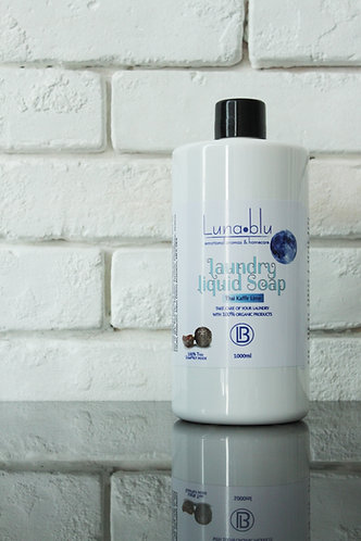 bottle of laundry soap nut concentrate