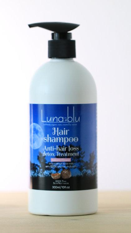 Organic Hair Shampoo indicated for hair loss, detox treatment-300ml