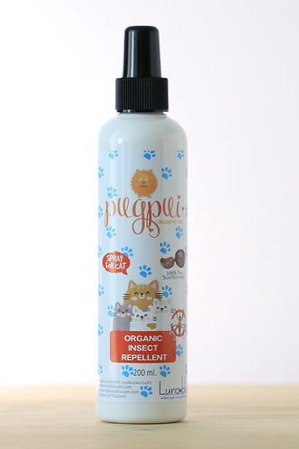Organic insects repellent for cats-spray