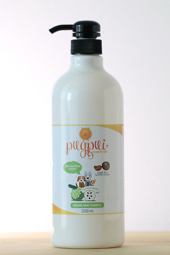 Dog Shampoo - Ticks and Fleas control-1Lt