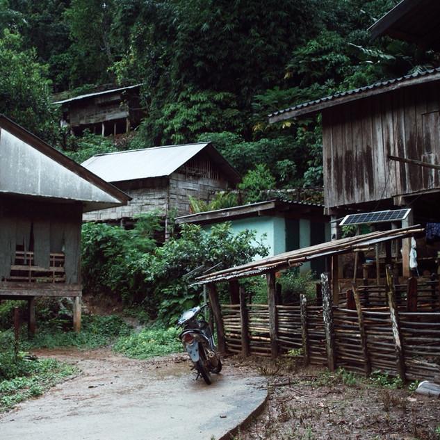 Hill Tribe village