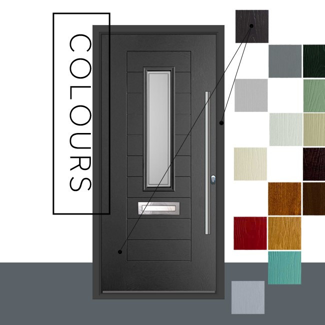 Endurance doors with a large range of colour. Matching frames to the door. Supplied and fitted in Berkshire.