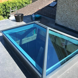 Lantern Roof With Blue Self-Cleaning Glass
