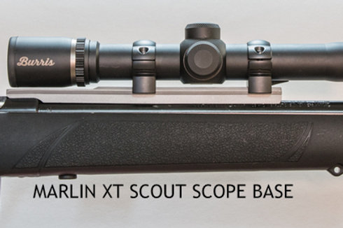 MARLIN XT SCOUT SCOPE BASE