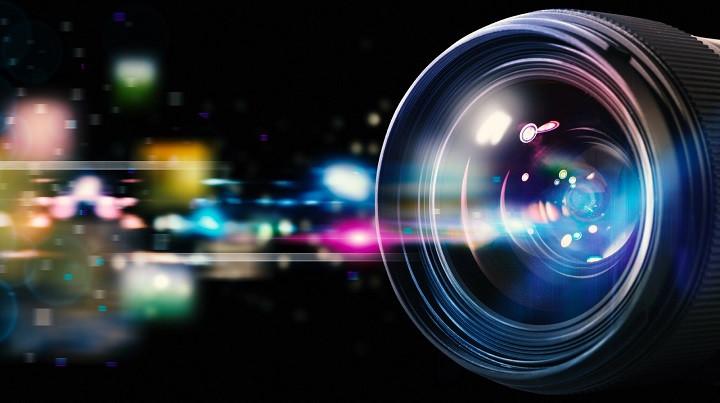 lente de cámara fotográfica