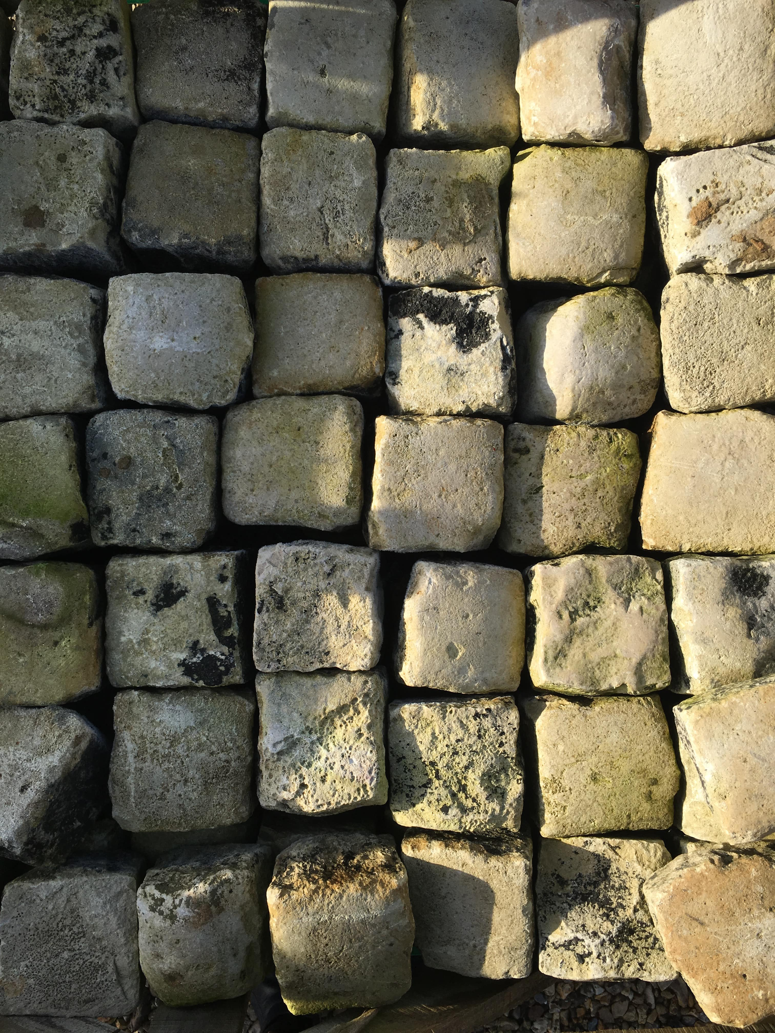 Limestone and Granite Setts