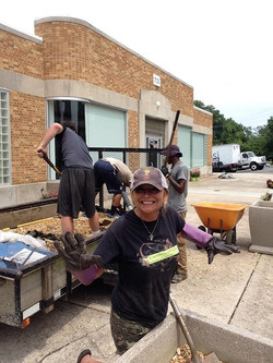We're beautifying Spreedly in downtown Durham! So thankful for biz in the bull city!