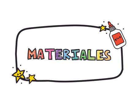 MATERIALES RECOMENDADOS PARA TRABAJAR MI LIBRO: CREATIVIDAD EN PROGRESO