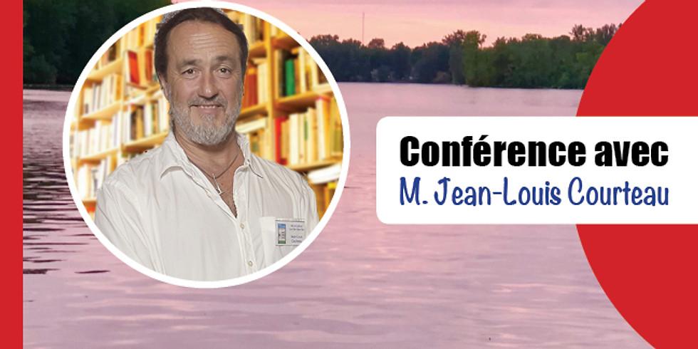 Conférence avec Jean-Michel Courteau: De l'autre côté du miroir