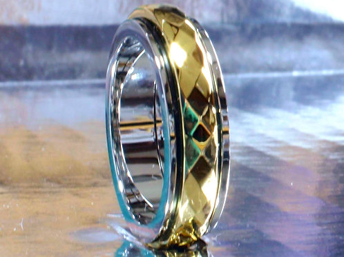 Gold Diamond Cut Spinner