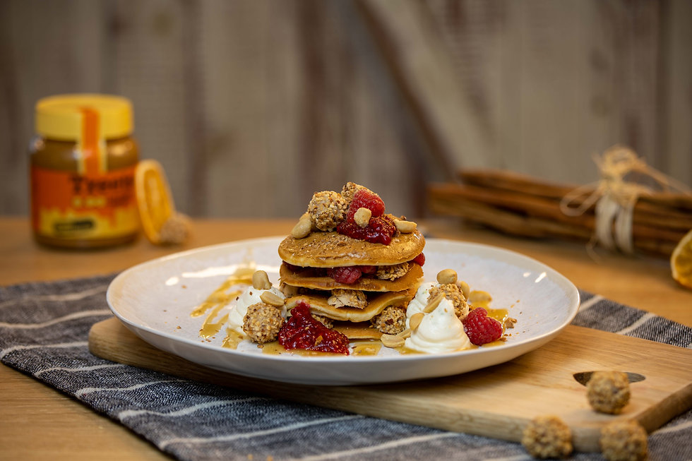 Desserado Pancakes Pfannkuchen Waffeln E