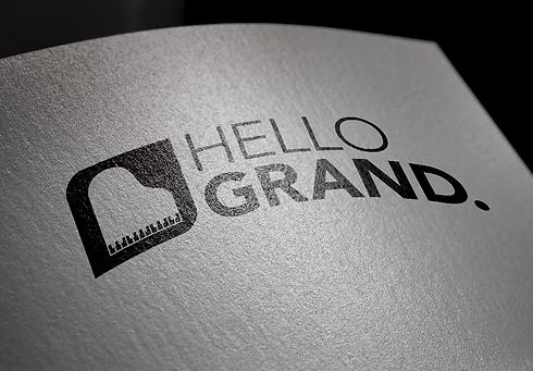 Hello Grand Band Webdesign Grafikdesign