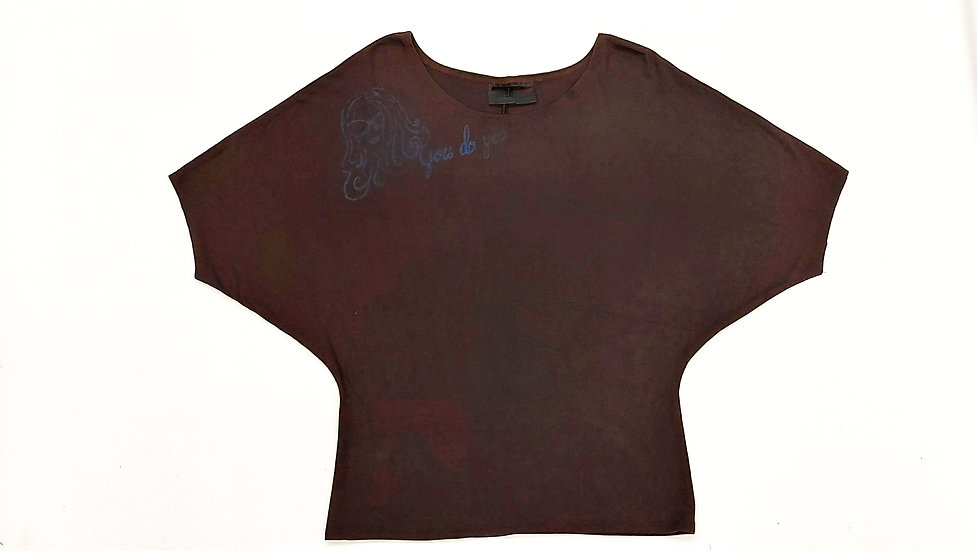 Batwing T (Brown)