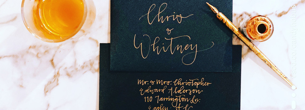 Gold Classic Calligraphy