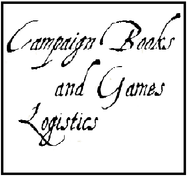 Campaign Books and Game Logistics