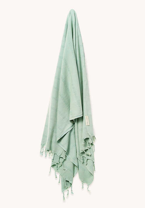 LUXE TOWEL STONEWASHED MINT