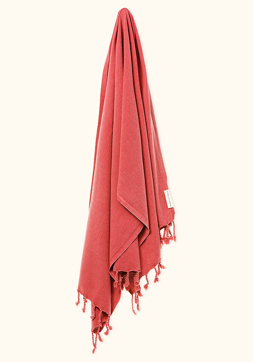 LUXE TOWEL ANTIQUE CORAL