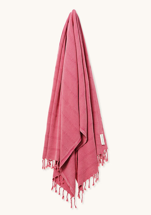 LUXE TOWEL STONEWASHED GRENADINE