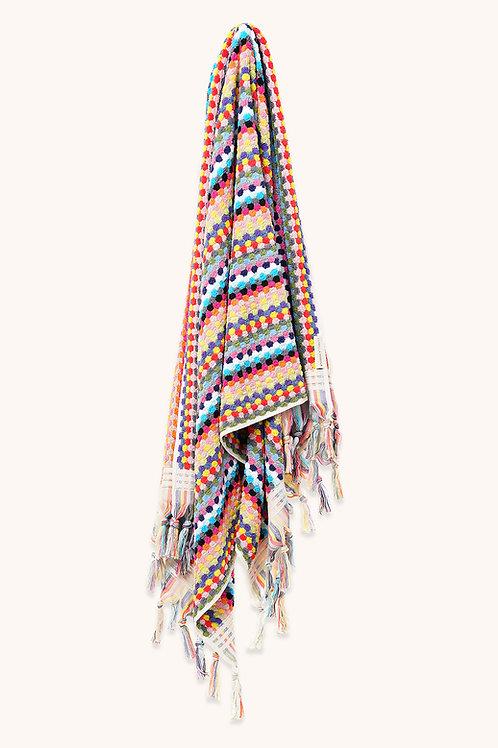 DESIGNER MULTICOLOURED TOWEL