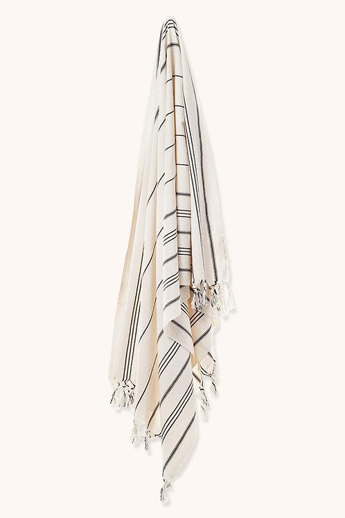 BOHO STYLE TOWEL BLACK LINES