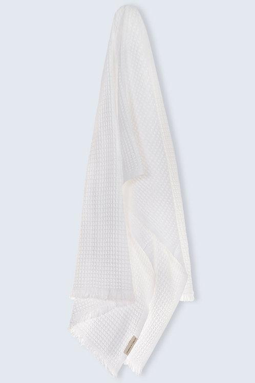 BATH TOWEL SENSE SNOW WHITE