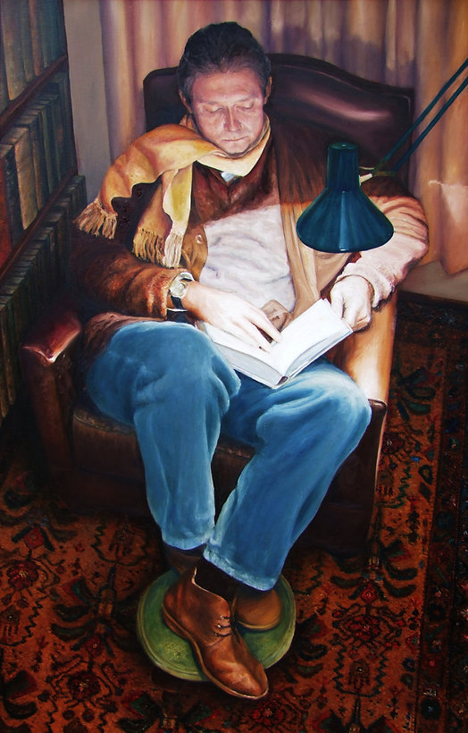 Portrait of author John Conyngham by Gourlay-Conyngham