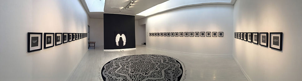 "Panoramic view of Gourlay-Conyngham's installation ""Losing Paradise"""