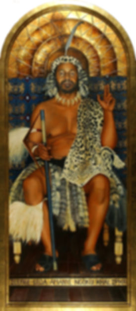 Portrait of King Goodwill Zwelithini by Gourlay-Conyngham