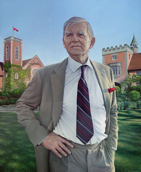 Commissioned portrait of Gary Ralfe, Chairman of he Board of Michaelhouse School