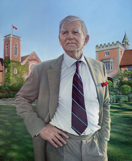 Commissioned portrait of Gary Ralfe, Chairman of he Board of Michaelhouse School by Gourlay-Conyngham