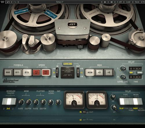 Waves J37 tape emulation plugin