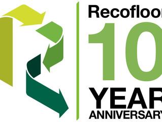 Recofloor celebrates 10 years of vinyl flooring recycling in 2019