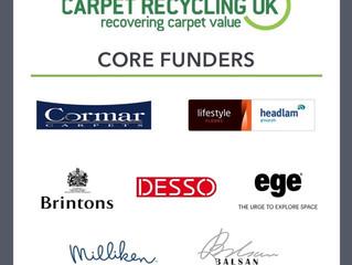 Carpet Recycling UK: landfill diversion of carpet waste rises to 42%