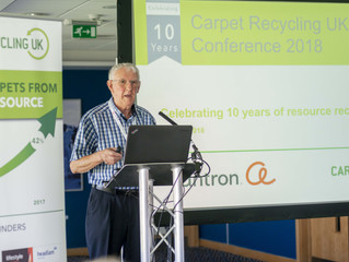 Carpet Recycling UK: One million tonnes of waste carpet diverted from landfill
