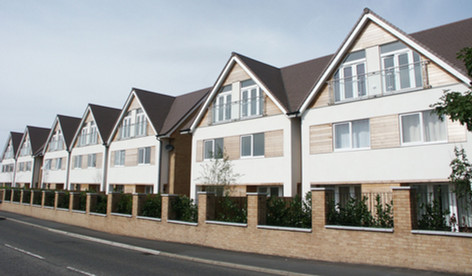 Energy-efficient PVC windows in new luxury homes