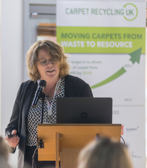Rising volumes of waste carpet is diverted from landfill through Carpet Recycling UK