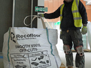 Act on reducing waste sustainably with Recofloor