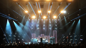 Clay Paky and Ambersphere in control with The Wombats at Ally Pally
