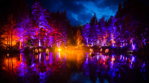 Claypaky shine brightly in the Enchanted Forest