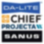 Milestone AV Technologies Da-Lite Chief Projecta Sanus