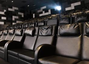 Digital cinema projectors at Prestige Cinema